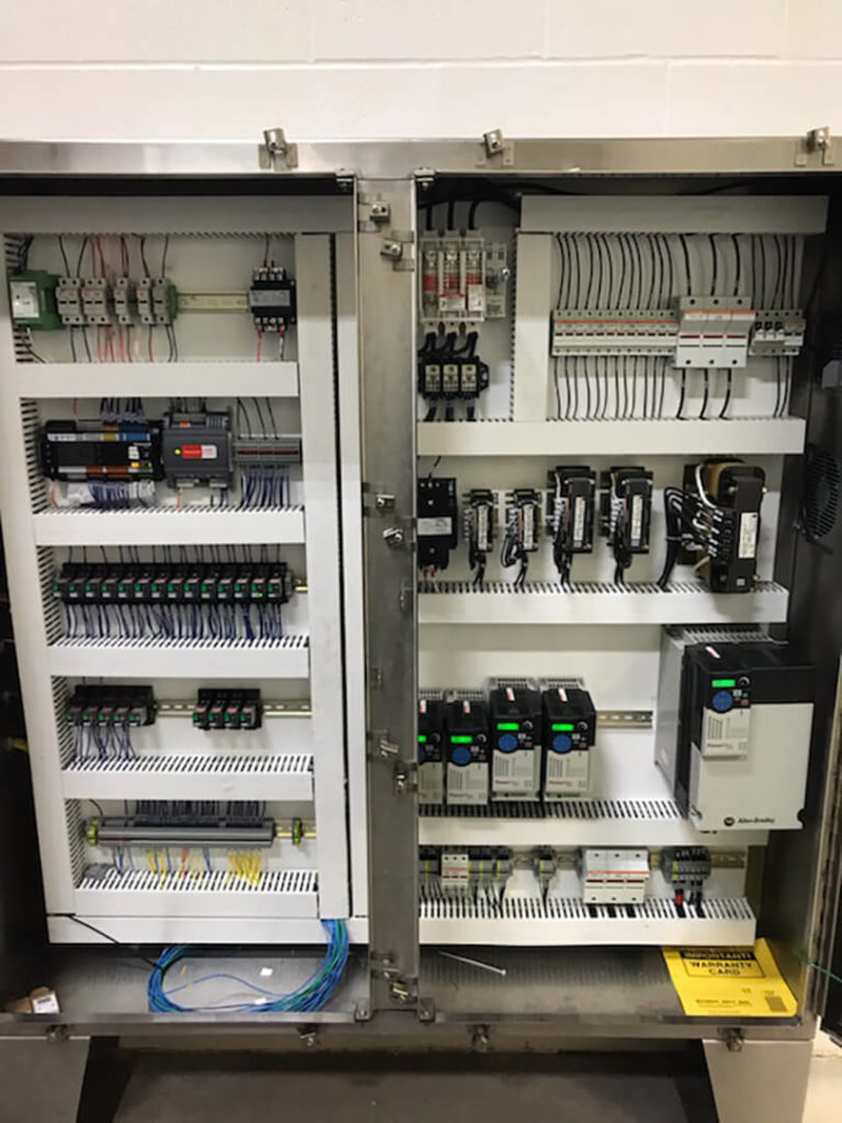 Custom Control Panels by T&F Industrial Group in Stratford, Ontario