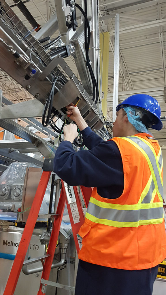 Industrial Electrical Installations by T&F Industrial Group in Stratford, Ontario